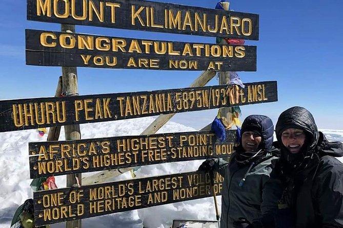 6 Days Mount Kilimanjaro Machame Route Climb