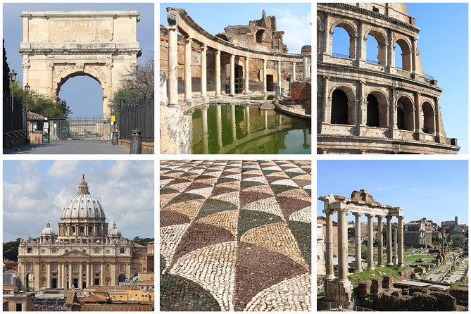 From Civitavecchia: One-Day Tour of Rome Highlights