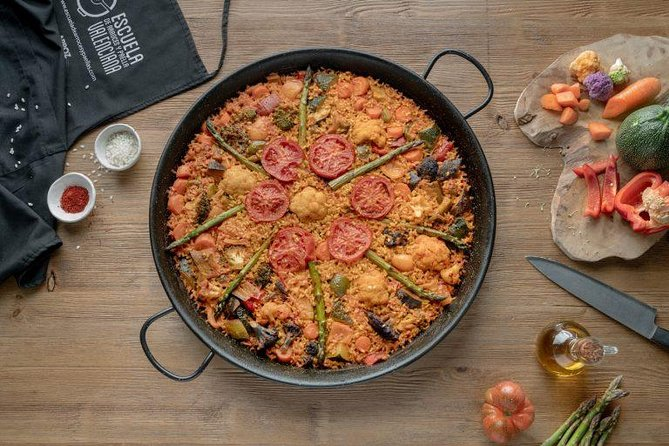 Vegetable Paella Cooking Class