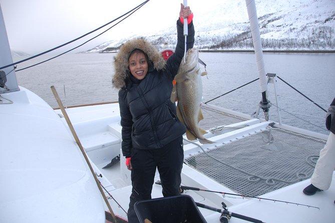 Fishing Trip with Luxury Catamaran in Tromso