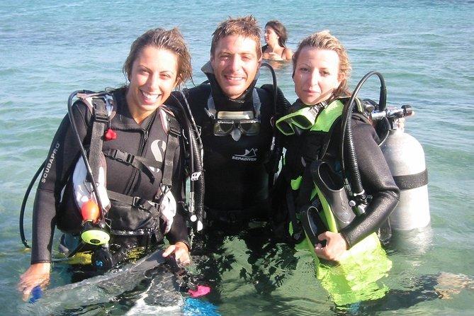 Descubra a aventura de mergulho em Mykonos