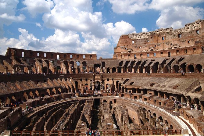 The Complete Colosseum: Private Tour with Underground, Arena & Belvedere