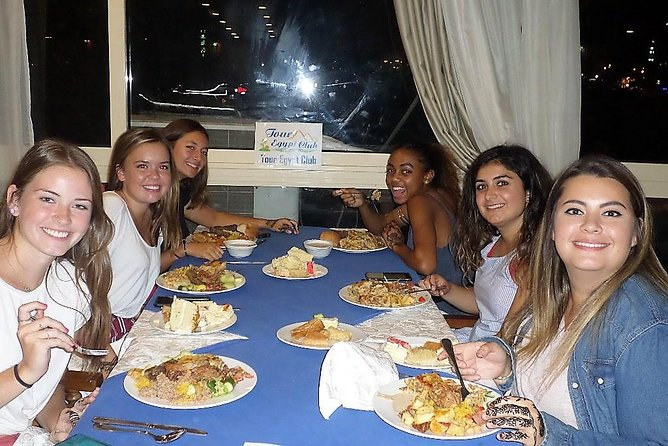 Dinner cruise on the Nile river Cairo and belly dance show