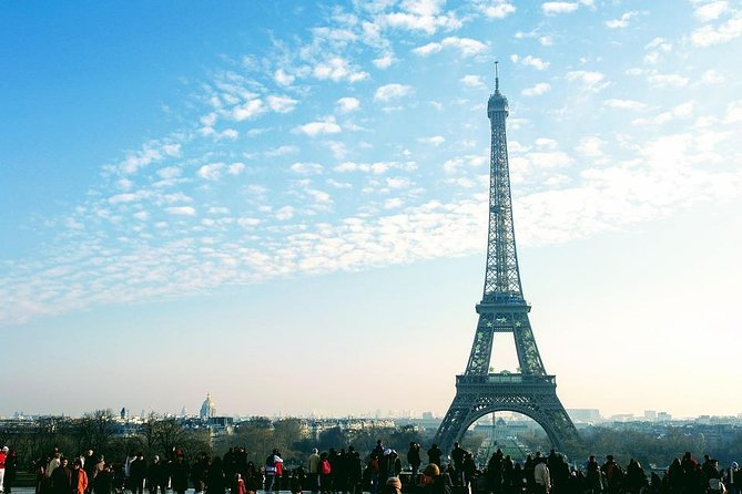 Private 12-Hour City Tour of Paris from London with roundtrip train tickets incl