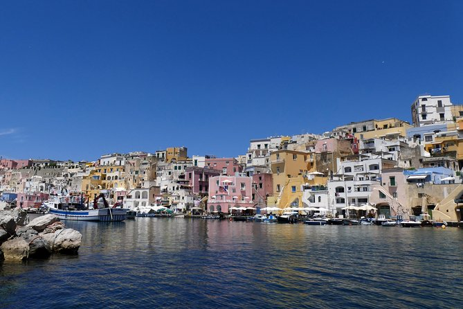 Lunch or Dinner in Procida (Italian Capital of Culture 2022) from Naples by Boat