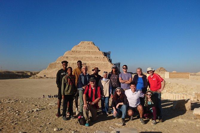 Saqqara and Giza Pyramids
