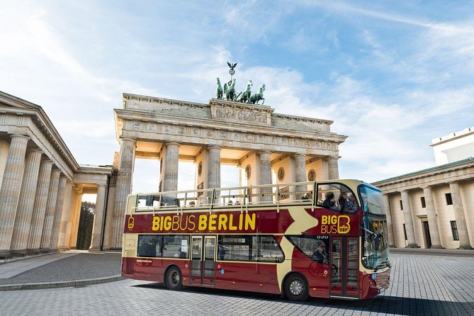 Big Bus Berlin Hop on Hop off tour with Walking Tour