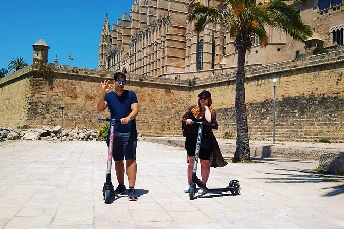 Electric Scooter Tour in Palma de Mallorca