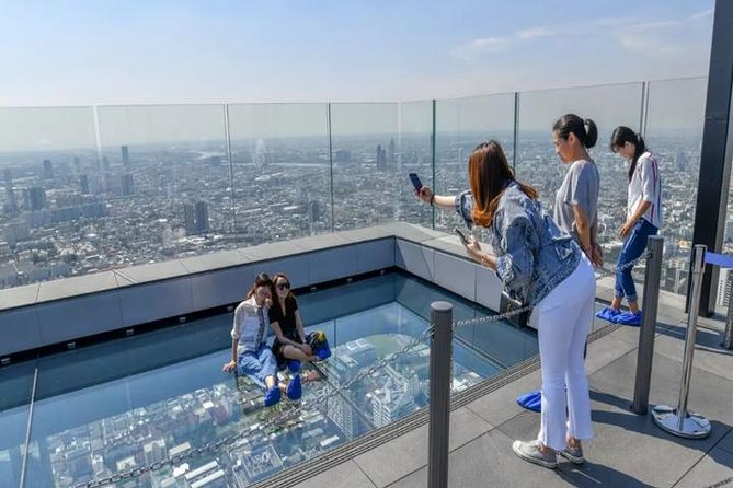Bangkok : Mahanakhon SkyWalk Admission Ticket