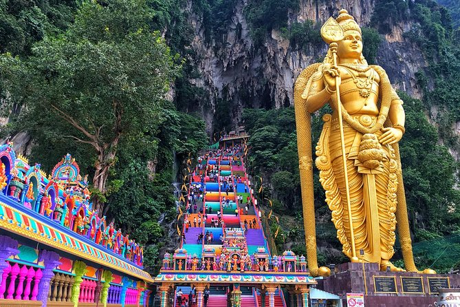 Genting Highlands City to Kuala Lumpur City Hotels En-route Batu Caves