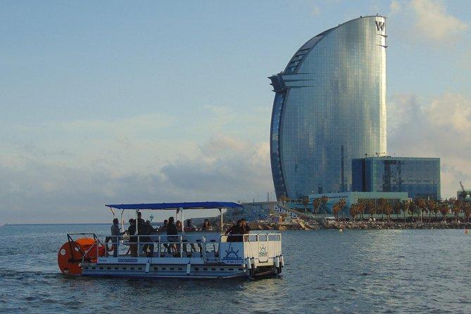 Individual Boat rental - Pedal Cruises Barcelona - Cycle Boat