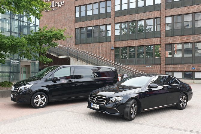 VIP Airport transfers by new cars in Helsinki