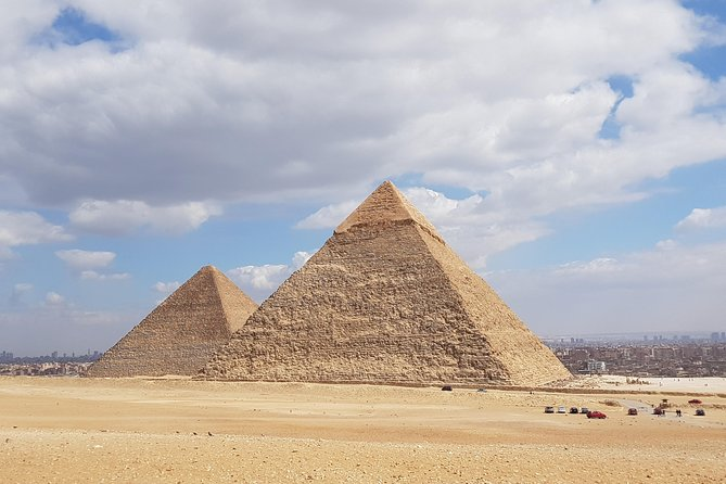 private tour to Giza pyramids and sphinx