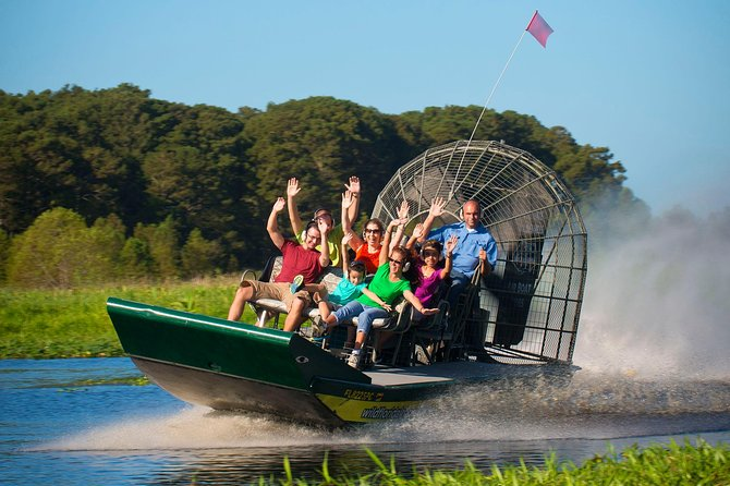 Everglades Airboat 30 or 60 min with pickup or self drive options