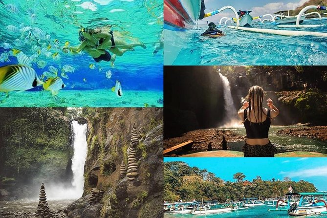 Blue Lagoon Snorkeling and Lunch with Visit Tegenungn Waterfall in Ubud
