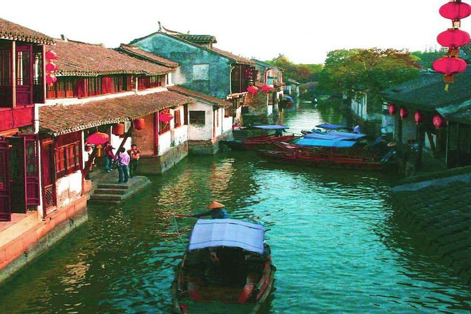 Shanghai to Suzhou & Zhouzhuang Water-town Small Group Tour