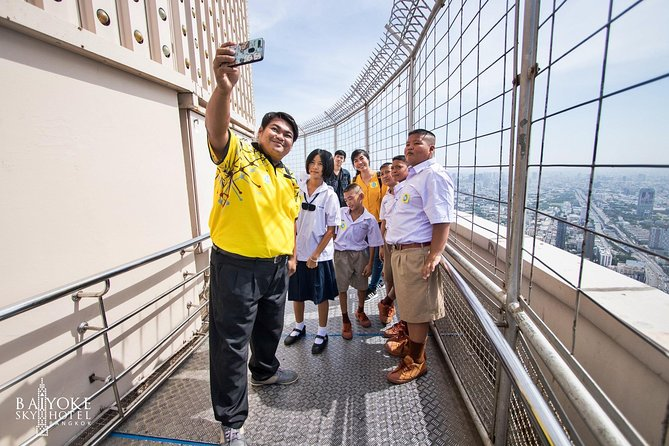 Baiyoke Sky Hotel: Observation Deck & Revolving Point Ticket