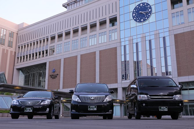 [Airport Transfer] Smoothly move between Sapporo and New Chitose Airport with a private car! one way