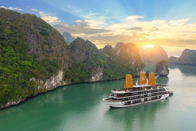 Halong La Regina 5star Cruises 2 nights on Lan Ha Bay ( Less Touristic )