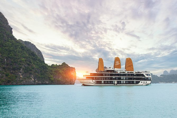 Halong La Regina Royal 5star Cruises 2 nights on Bai Tu Long Bay Less Touristic