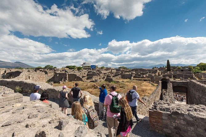 Pompeii and Mt. Vesuvius Day Trip from Naples with Lunch and Wine Tastings
