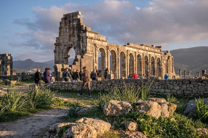 A day trip from MEKNES - VOLUBILIS - MOULAY IDRISS