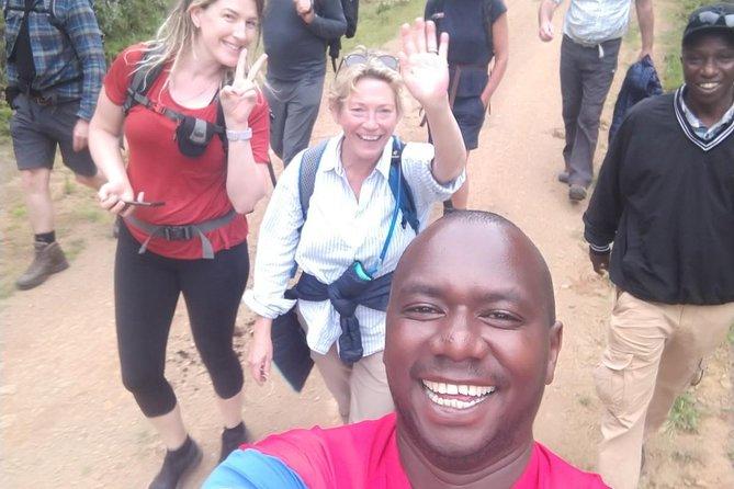 Climbing Mount Kenya Through Sirimon Chogoria