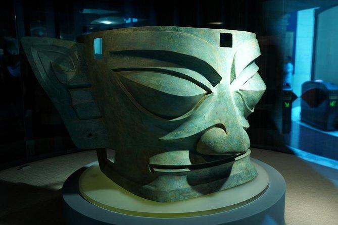 Tour guidato privato di Chengdu Giant Panda e Sanxingdui Ruins of Bronze Age