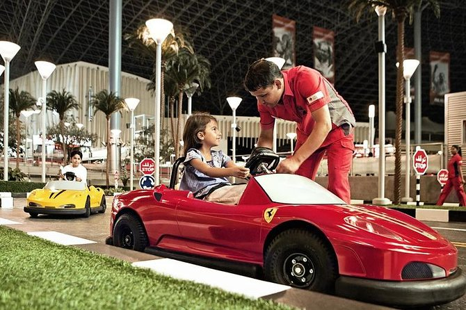 Ferrari World Entry with Transfers from Dubai as per option selected