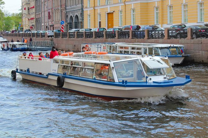 St Petersburg 1 Hour Boat Tour with Audioguide