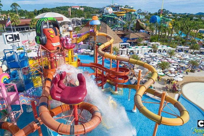 Pattaya : Cartoon Network Amazone Water Park with round trip transfer