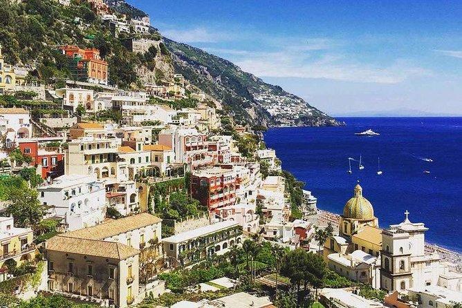 Amalfi Coast Tour and Pompeii Full Day from Rome