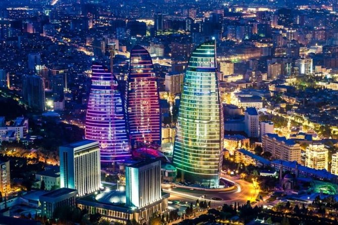 Baku Night City Tour-Guided Private Tour