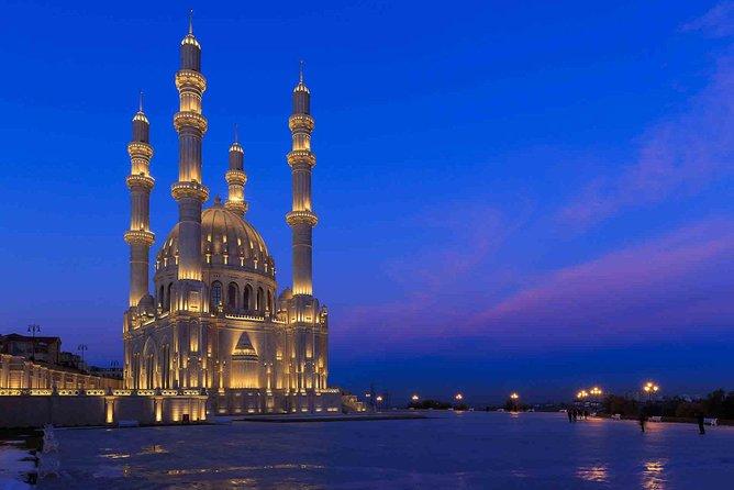 Baku Night City Tour-Guided Private Tour