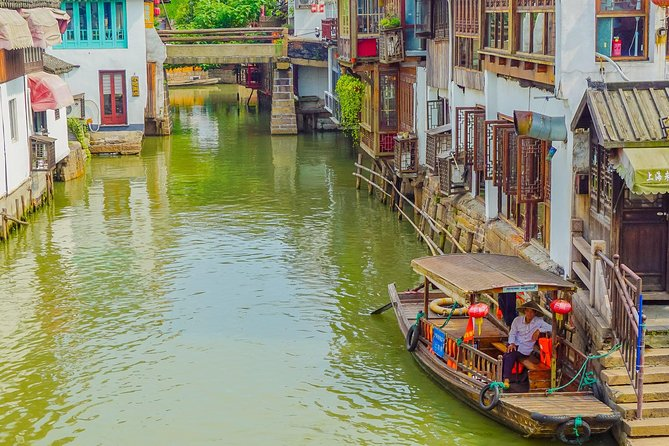 Private Full Day Tour: Zhujiajiao Ancient Water Town with Best of Shanghai photo 4