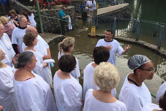 The Jordan River, baptismal site of Yardenit.