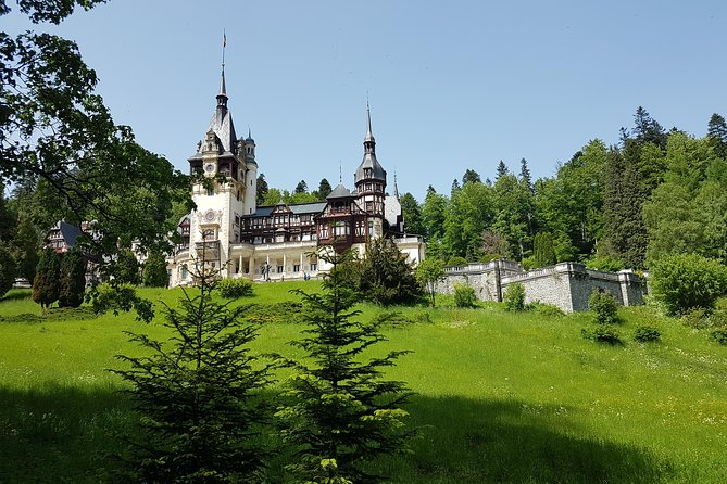 Day Trip To Dracula' S Castle, Peles Castle And Brasov City.