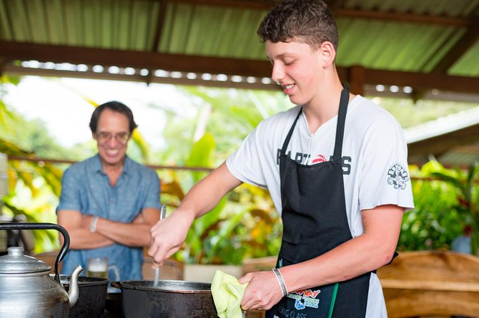 Pura Vida Cooking Class in La Fortuna