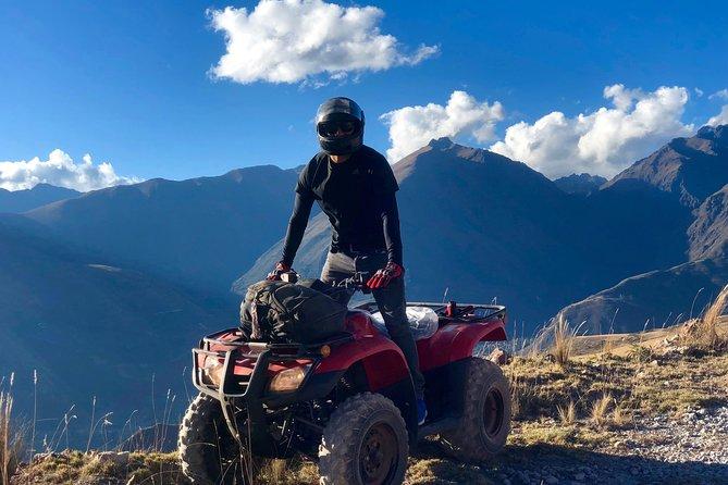 Quad bikes through Sacred Valley and Machupicchu 2 days