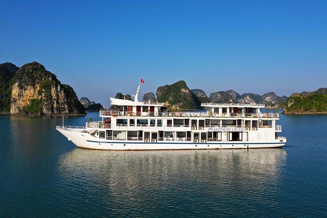 Halong Sapphire Cruise | 3 Days Explore Halong Bay, Lan Ha Bay, Cat Ba island