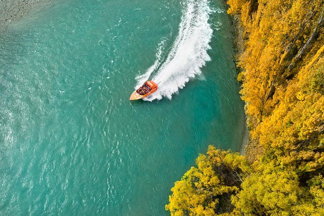 Queenstown 1-hour Jet Boat Lake Wakatipu and Kawarau River