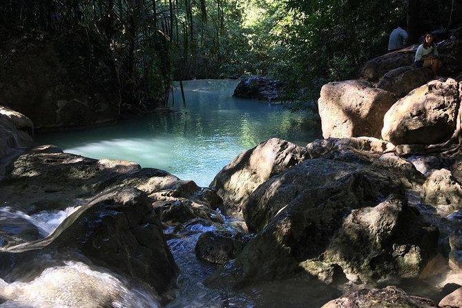 Private : Kanchanaburi Bridge Over River Kwai & Erawan Waterfall Day Tour