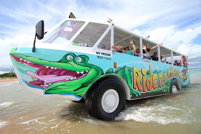 Airlie Beach by Land and Sea aboard the Aquaduck Croc Bus photo 1