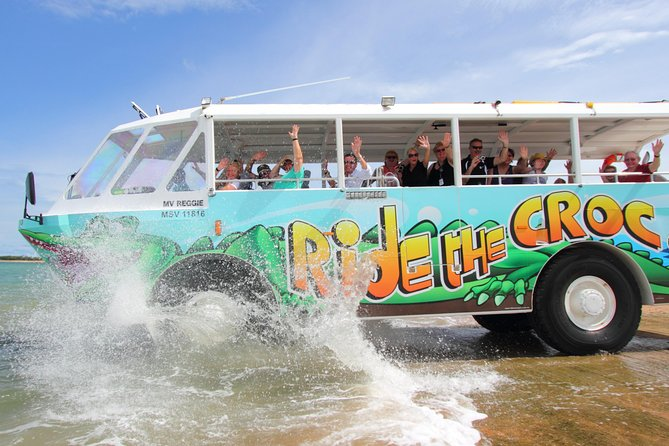 Airlie Beach by Land and Sea aboard the Aquaduck Croc Bus photo 8