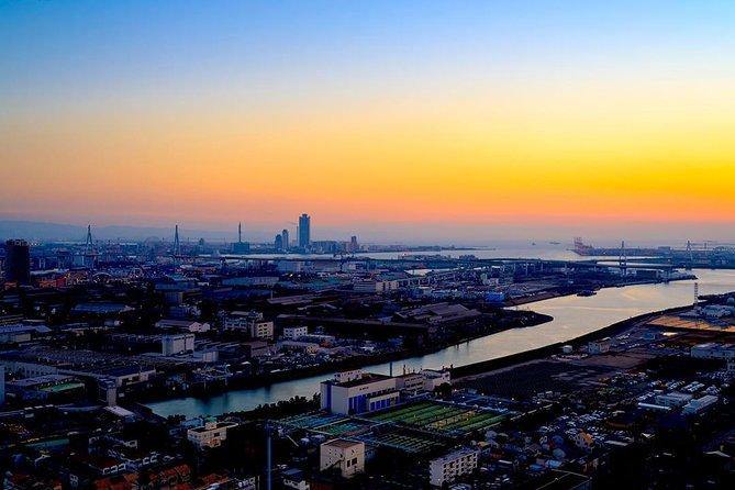 [7 Minutes] Osaka Tour: Osaka Bayside Helicopter Tour