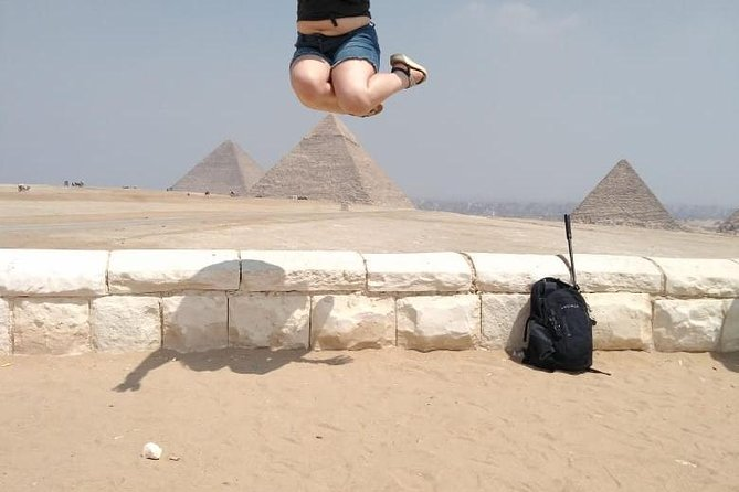 Full Day private trip to visit Giza Pyramids Sphinx Memphis and Sakkara