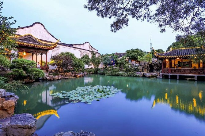 Pingjiang Road, Suzhou Museum, and Master of Nets Garden. Private Half-Day Tour