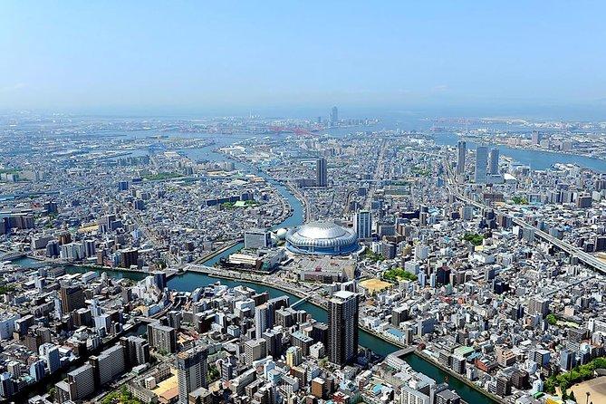 [10 Minutes] Osaka Tour: Osaka City Helicopter Tour