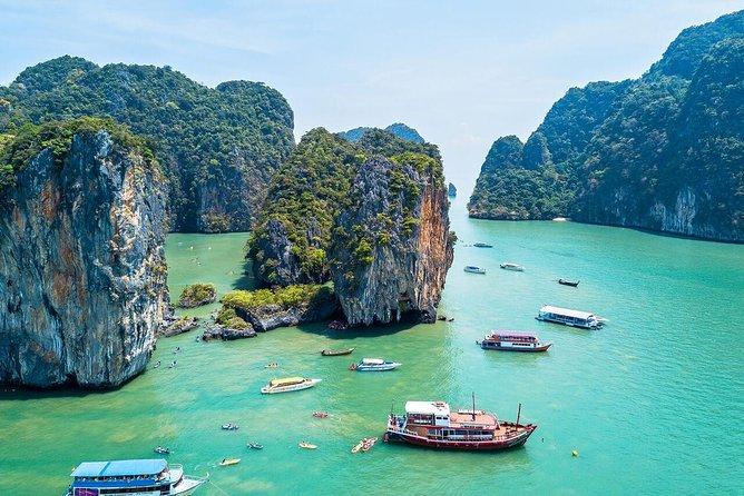 Phuket James Bond Island Sea Canoe Tour by Big Boat with Lunch