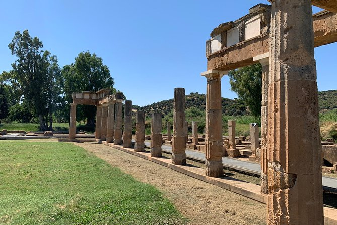 Private Winery tour, Temple of Artemis Brauron, Museum and lunch